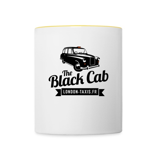 The Black Cab - Mug contrasté