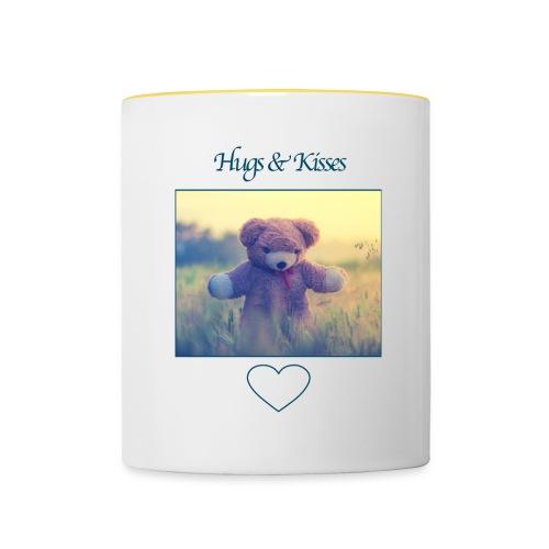 Hugs & Kisses: Phone Case - Contrasting Mug