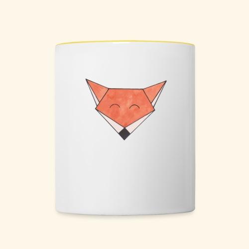 Foxy - Tofarvet krus