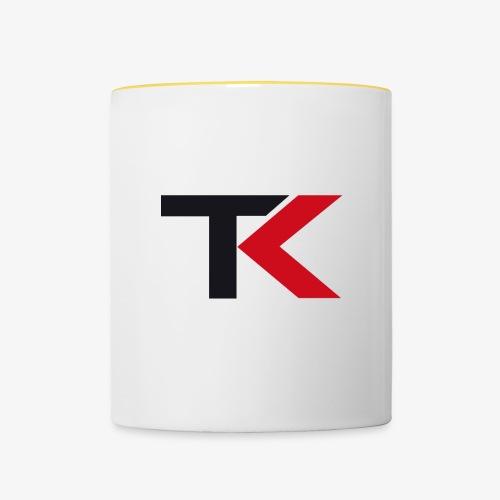 Logo TK neu v1 - Tasse zweifarbig