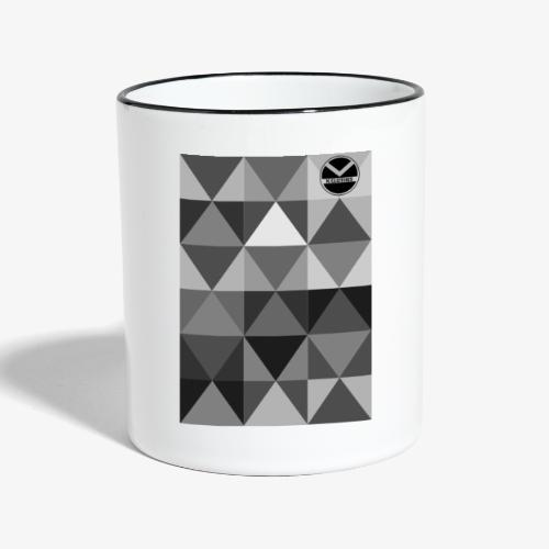 |K·CLOTHES| TRIANGULAR ESSENCE - Taza en dos colores