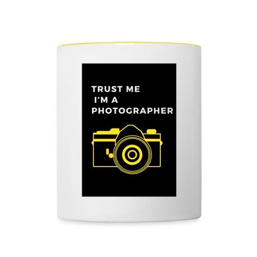 I'M A PHOTOGRAPHER - Tasse zweifarbig