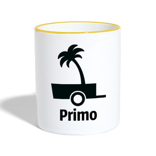 Primo Groot - Mok tweekleurig