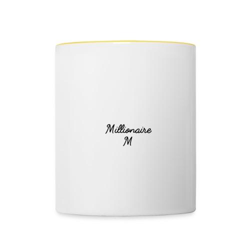 Millionaire lifestyle - Tvåfärgad mugg