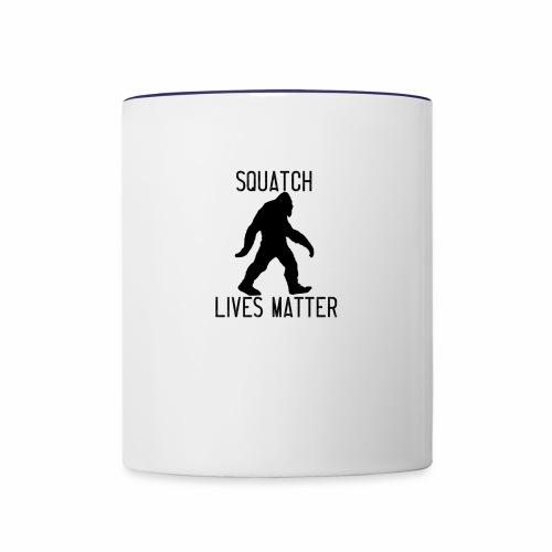 Squatch Lives Matter - Contrasting Mug