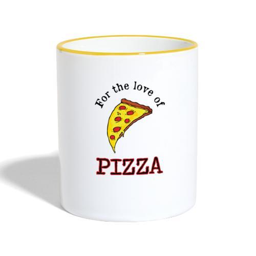 For the Love of Pizza - Kaksivärinen muki
