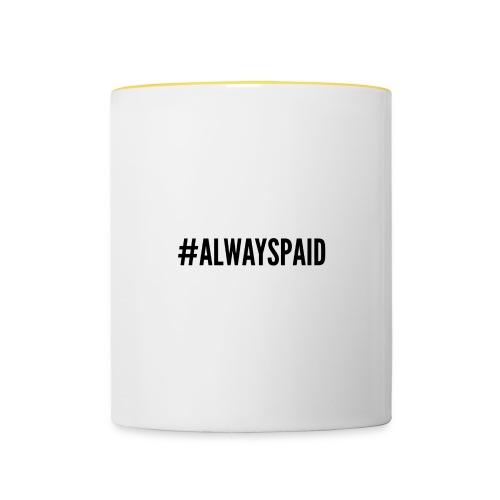 AlwaysPaid - Mug contrasté