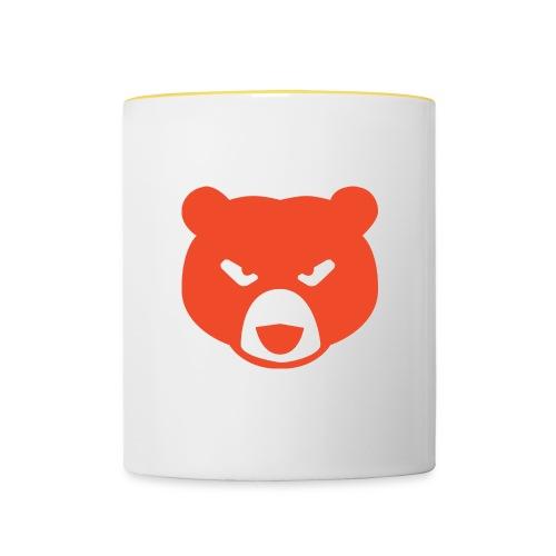 Thermal Grizzly Bear - Tasse zweifarbig