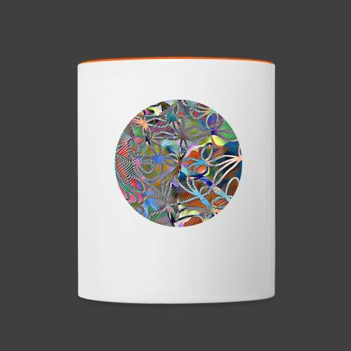 The joy of living - Contrasting Mug