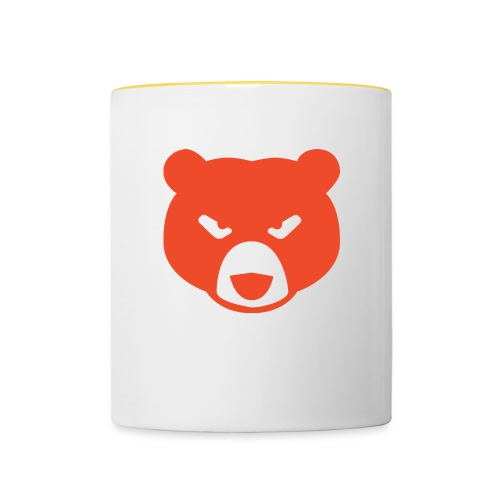 Thermal Grizzly Bear - Tasse zweifarbig
