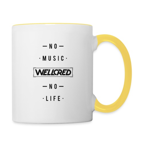 WELLCRED T-SHIRT - Contrasting Mug