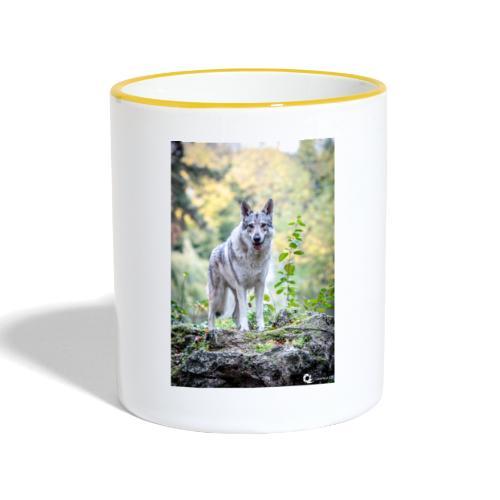 La Tanière des Chiens-Loups - Mug contrasté
