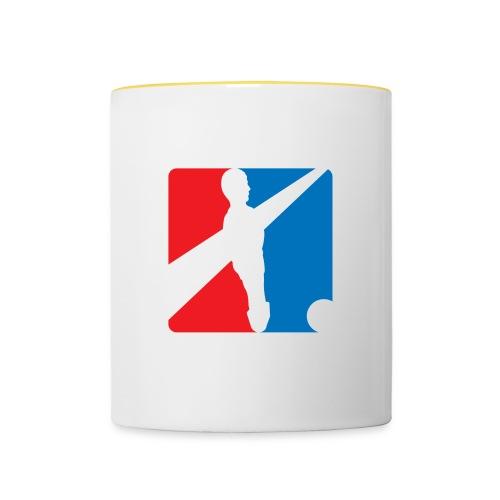 Fordere Logo - Tasse zweifarbig