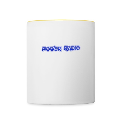 Power Text logo - Contrasting Mug