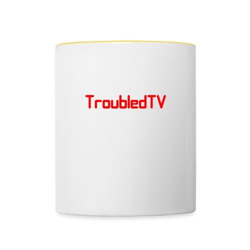 Troubledtv - Contrasting Mug