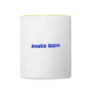 Power Text logo - Contrasting Mug