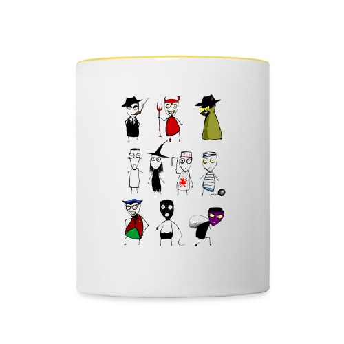 Bad to the bone - Contrasting Mug