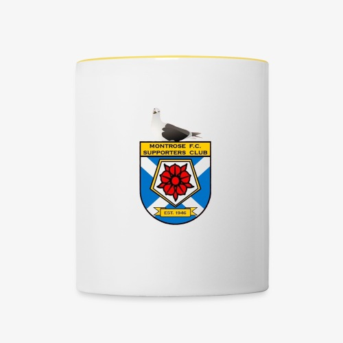 Montrose FC Supporters Club Seagull - Contrasting Mug