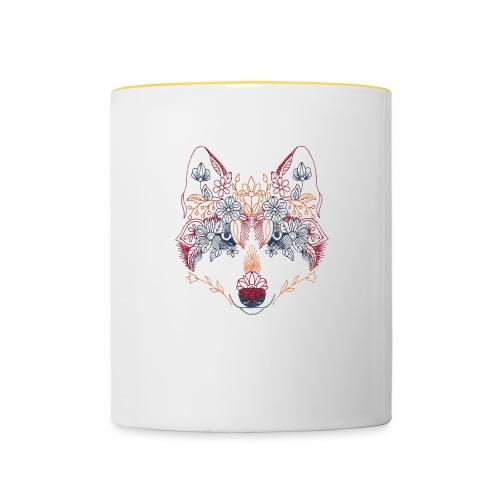 Wolf Wow - Taza en dos colores