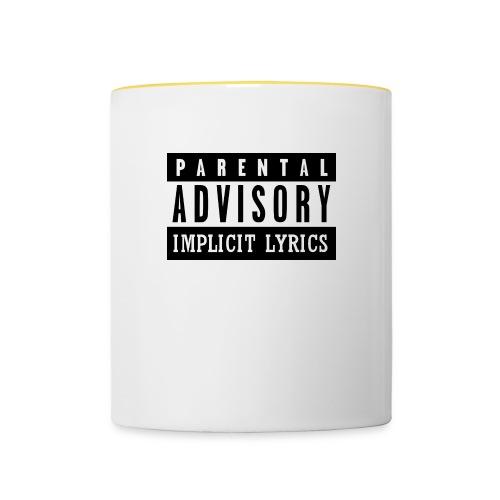 TEX IMPL jpg - Contrasting Mug