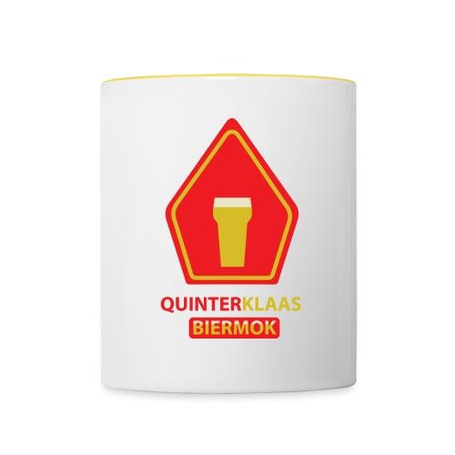 Quinterklaas Biermok - Mok tweekleurig
