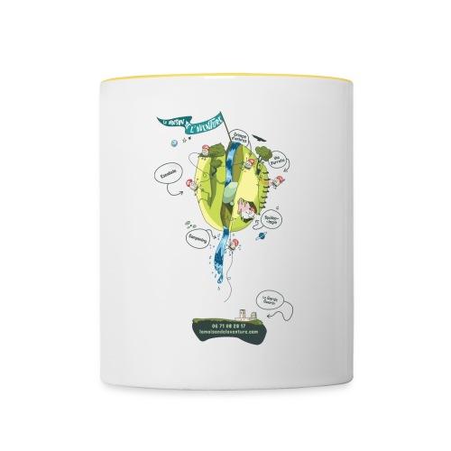 T-shirt Maison de L'aventure - Mug contrasté
