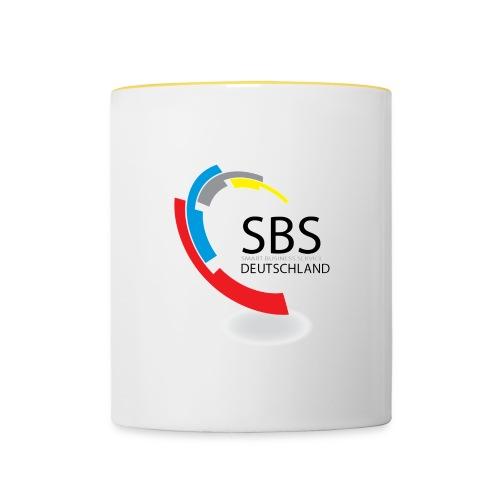 SBSDeutschland Logo - Tasse zweifarbig