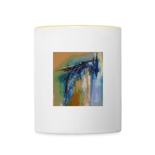 vogel1 - Tasse zweifarbig