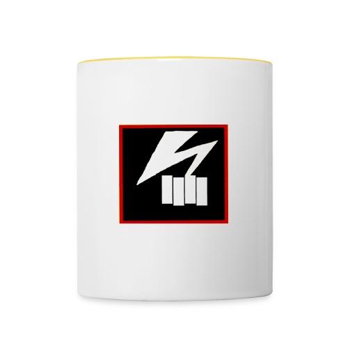 bad flag bad brains - Contrasting Mug