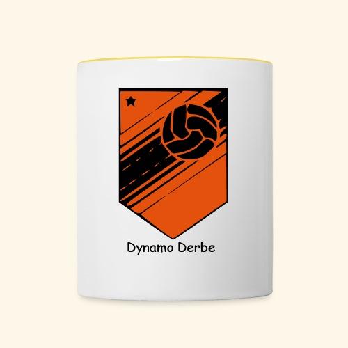 Dynamo Derbe - Tasse zweifarbig