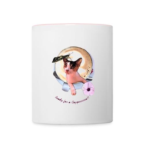 Ready for a cappuchino? - Contrasting Mug