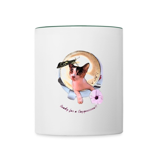 Ready for a cappuchino? - Contrasting Mug