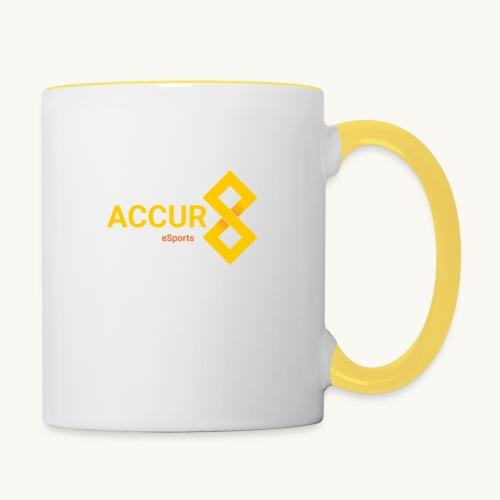 transparent accur8 sehr groß png - Tasse zweifarbig