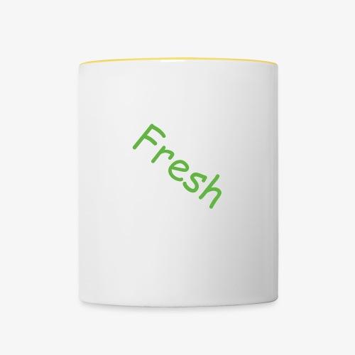 Fresh - Tasse zweifarbig