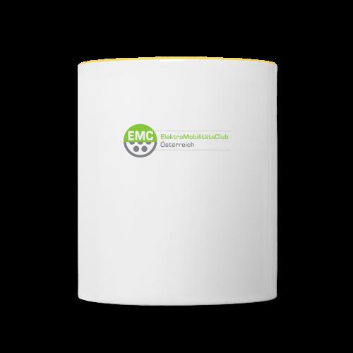 ElektroMobilitätsClub Logo - Tasse zweifarbig
