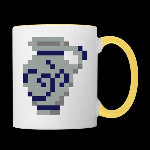 Pixel Bembel - Tasse zweifarbig