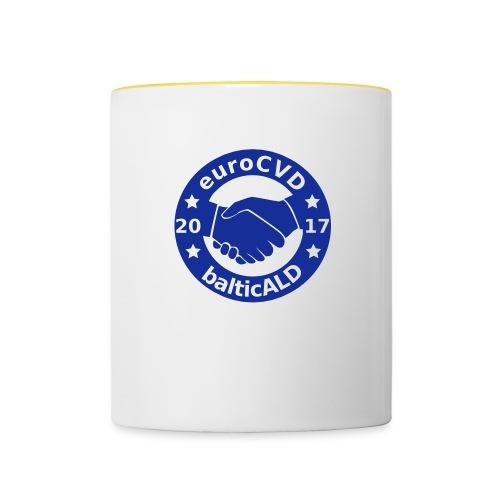 Joint EuroCVD - BalticALD conference mens t-shirt - Contrasting Mug