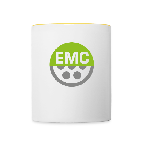 ElektroMobilitätsClub Icon - Tasse zweifarbig