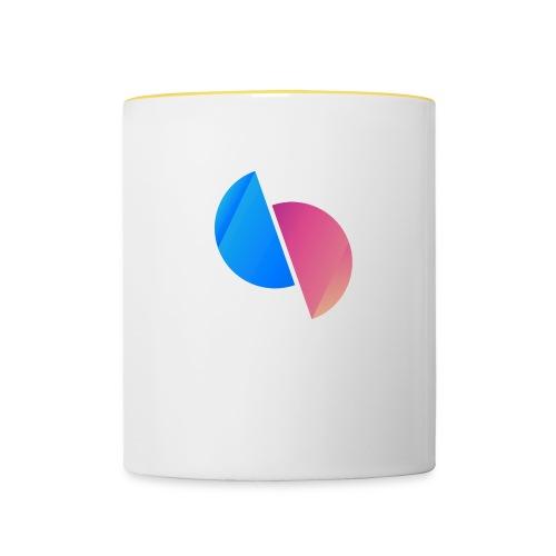 Ediplace logo färg - Tvåfärgad mugg