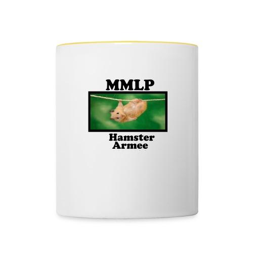 HamsterArmee - Tasse zweifarbig