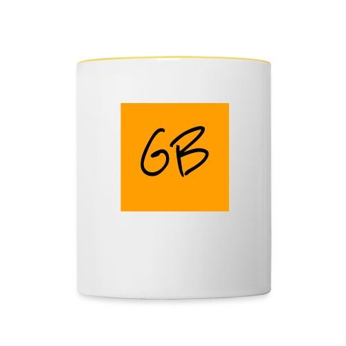 GB - Tofarvet krus