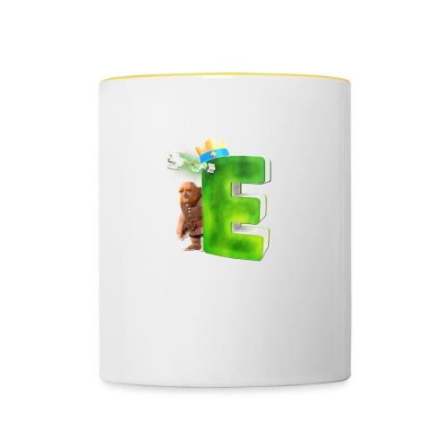 Tassen - Tasse zweifarbig