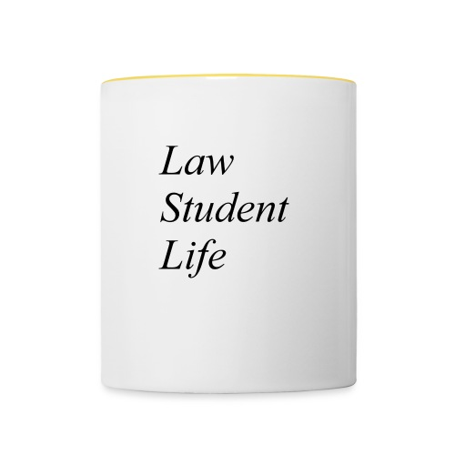 Law Student Life - Tazze bicolor