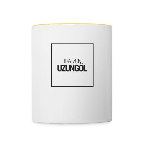Trabzon Uzungöl - Tasse zweifarbig