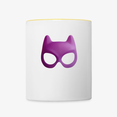 Bat Mask - Kubek dwukolorowy