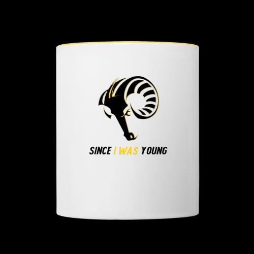 Since I Was Young - Contrasting Mug