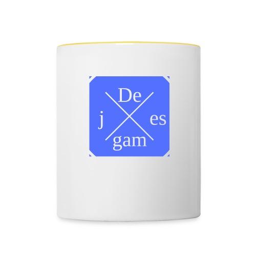 de j games - Mok tweekleurig