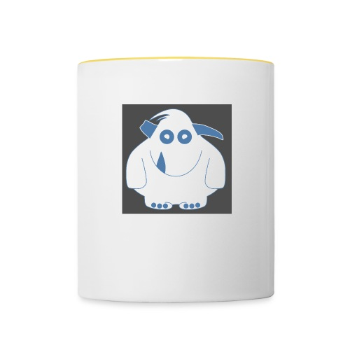 Pinky Monster - Contrasting Mug