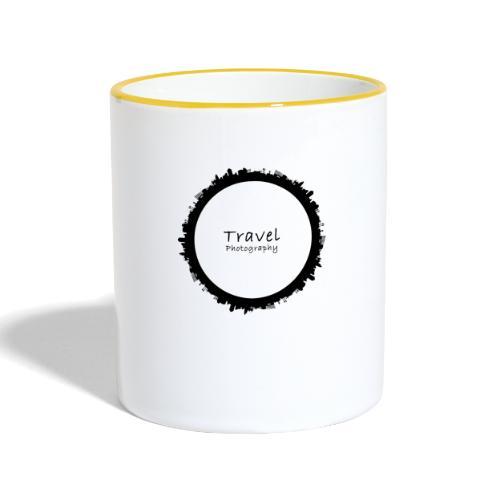 Reisefotografie - Travel Photography Design - Tasse zweifarbig