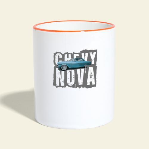 nova - Tofarvet krus